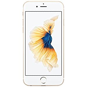 Apple iPhone 6S Factory Sealed Unlocked Phone, 64GB (Gold)