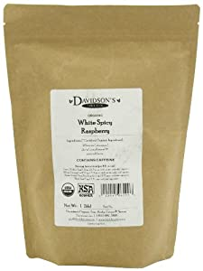 Davidson's Tea, White Spicy Raspberry, 16-Ounce Bag by Davidson's Tea