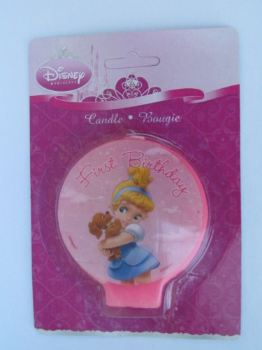 Disney Princess Baby 1st Birthday Cake Candle (1ct)