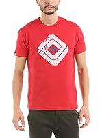 Hot Buttered Camiseta Manga Corta Shuttered (Rojo)