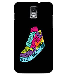 SAMSUNG GALAXY S5 SHOE Back Cover by PRINTSWAG