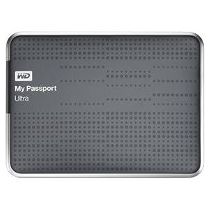 WD My Passport Ultra externe Festplatte 1TB (6,4 cm (2,5 Zoll), USB 3.0) titanium