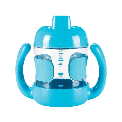 OXO Tot Sippy Cup with Handles, Aqua, 7 Ounce