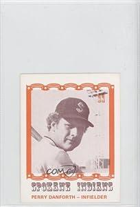 Perry Danforth (Baseball Card) 1976 Spokane Indians Caruso #11 by Spokane Indians Caruso