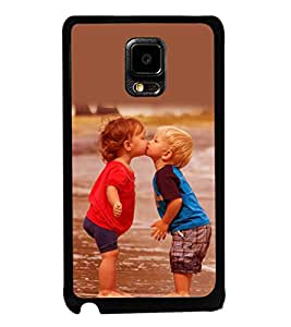 printtech Baby Kiss Love Back Case Cover for Samsung Galaxy Note i9220::Samsung Galaxy Note 1 N7000
