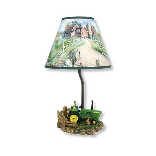 Green John Deere Lamp Shade : Trademark marketing tmk dl john deere lunch time table