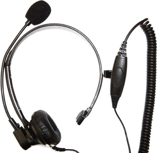 New Light Weight Headset For Motorola Radios (Med. Duty)