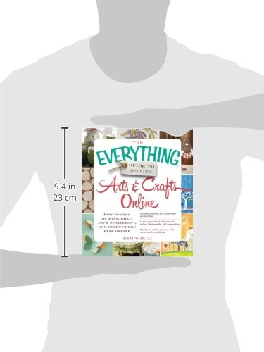 Libro the everything guide to selling arts crafts online for Selling crafts online etsy