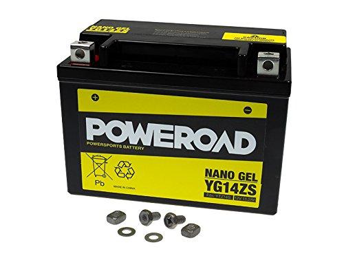 GEL-Batterie-Poweroad-YTZ14S-112AH-fr-Benelli-BMW-Honda-KTM-SYM-Yamaha