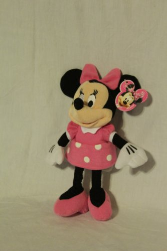 Disney Just Play Exclusive Mini Plush Figure Minnie Mouse Pink - 1