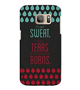 GADGET LOOKS PRINTED BACK COVER FOR SAMSUNG GALAXY NOTE 7 MULTICOLOUR