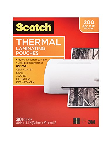 scotch-thermal-laminating-pouches-89-x-114-inches-3-mil-thick-200-pack-tp3854-200clear