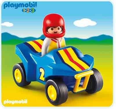 1.2.3 - Quad Bike - 6782 0792363067829 By Playmobil
