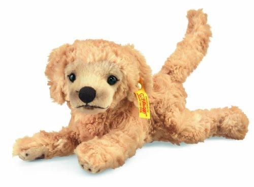 Steiff 280375 - Lumpi Golden Retriever Welpe, 22 cm, blond