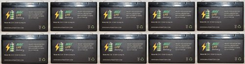 6V 12Ah Ups Battery For Lithonia Cf1 822 - 10 Pack