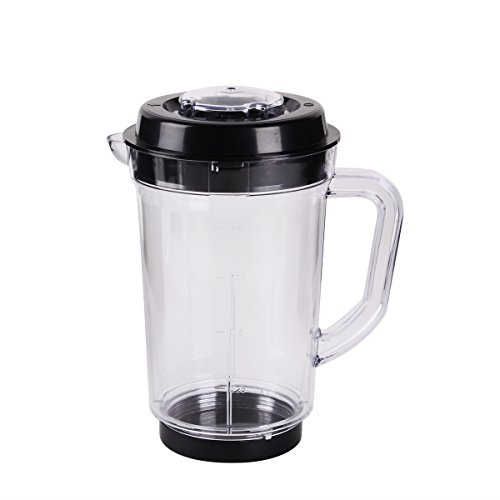 iHappy Replacement Pitcher for Magic Bullet Blender Juicer Mixer Clear Soybean Milk Cup with Lid Base (Magic Bullet With Pitcher compare prices)