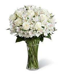 Buds of White - Eshopclub - Online Flower - Anniversary Flowers - Wedding Flowers Bouquets - Birthday Flowers - Send Flowers