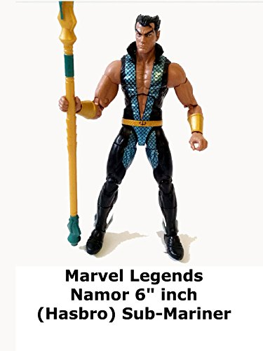 "Review: Marvel Legends Namor 6"" Inch (Hasbro) Sub-Mariner"
