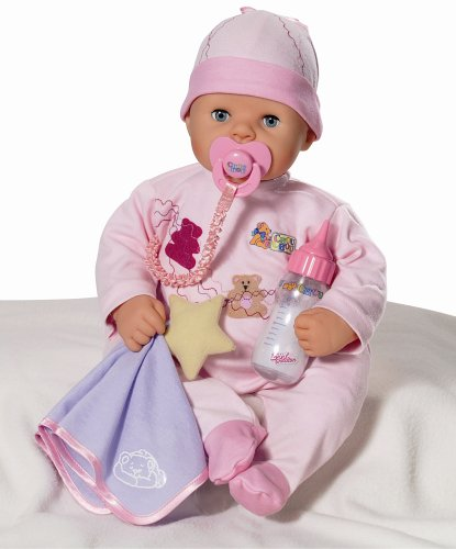 Zapf Creation Rock-a-bye Chou Chou Doll (723753), 48 cm