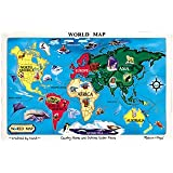 Melissa & Doug World Map Jigsaw Puzzle