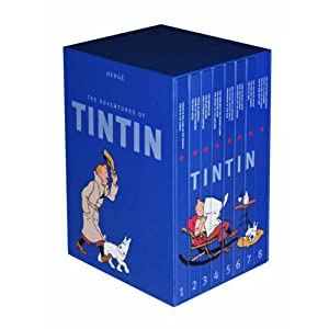 The Complete Adventures of Tintin [Hardcover] $72 delivered from Amazon