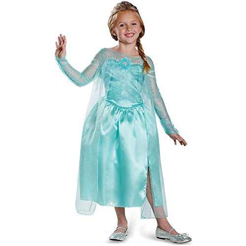 Frozen: Elsa Snow Queen Gown Kids Costume