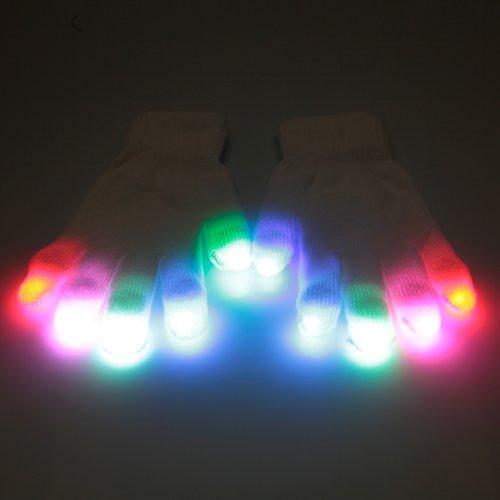 Starburst Elite 1-Mode Glove Set Led Lightshows (Upgraded Microlights) - Sharky - Official Emazinglights