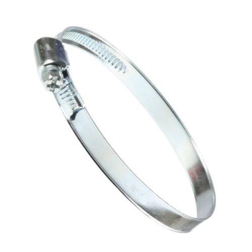 SaniFri 470010481 Fascette stringitubo 80-130 mm, larghezza nastro 9 mm, norma DIN 3017, confezione da 5