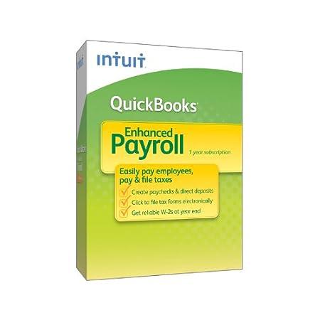 QuickBooks Enhanced Payroll 2013
