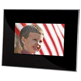 Sunpak 7-Inch Acrylic Digital Photo Frame (Black)