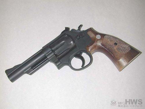HWS(ハートフォード)【組立キット モデルガン】S&W M19 4インチ HW