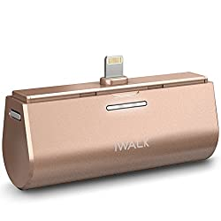 iWalk Dockable Rechargeable Power Banks 3000mAh for iPhone - Gold