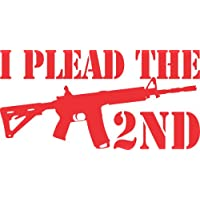 I Plead The 2ND Vinyl Decal Sticker