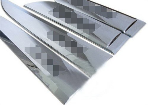 Auto Stainless Steel Body Door Side Molding Trim Chrome 4pcs fit for 2010 2011 2012 Hyundai ix35