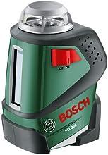 Bosch PLL 360 Linienlaser + Schutztasche + Universalhalterung (360°-Laserlinie)