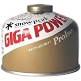 Snow Peak Giga Power Pro Iso Fuel Gold - 110