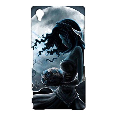 Cartoon Character Tim Burton'S Corpse Bride 3D Design Cover Case Snap on Sony Xperia Z1 Drop Resistance Phone Case (Buss Mobile Phone compare prices)