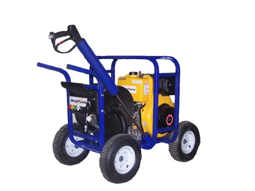 3600 Psi Diesel Powered Pressure Washer Carrier Style