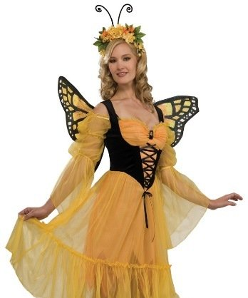 Rubies Womens Adult Halloween Butterfly Costume