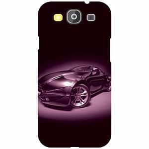 Samsung Galaxy S3 Neo Back Cover - Purple Car Designer Cases