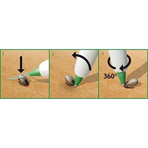 Zeckenschlinge in praktischer Aufbewahrungshülse -