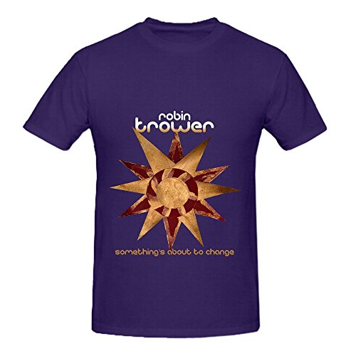 Robin Trower Somethings About To Change Soundtrack Men Round Neck Cool T Shirts