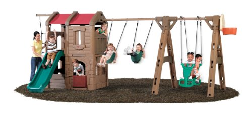 Step2 Naturally Playful® Adventure Lodge Play Center with Glider
