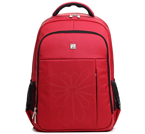 "Ob-Osi Manufacturers 14"" Laptop Computer Backpacks Selling Waterproof School Bag Computer Backpack Couple Red front-238064"