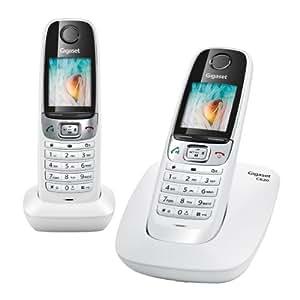 Gigaset C620 Duo Téléphone sans fil DECT/GAP 2 Combinés Blanc