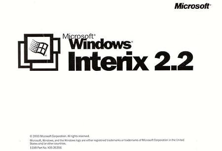 Interix 2.2