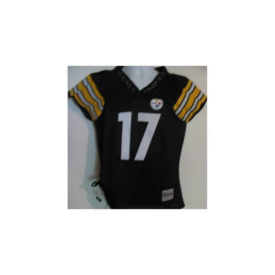 df2aae3fe Mike Wallace  17 Pittsburgh Steelers Womens Field Flirt Jersey Size Medium