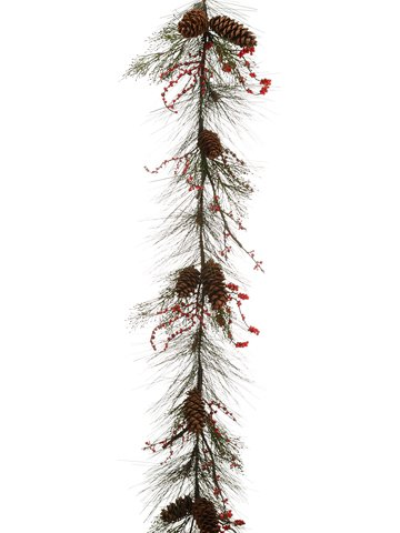 silk-plants-direct-long-needle-pine-cone-cedar-pine-berry-garland-pack-of-2