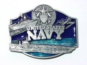 Navy Official Military Belt Buckles
