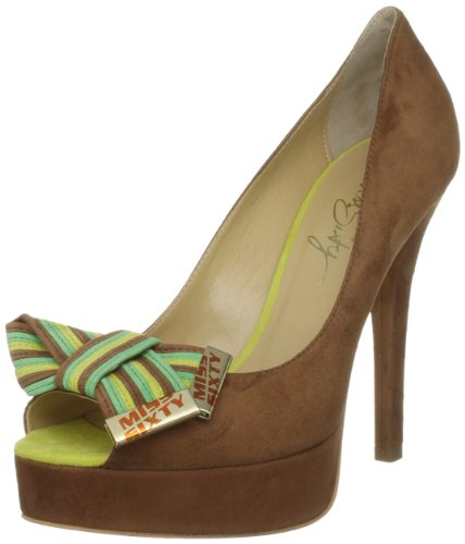 Miss Sixty Women's Odile Brown/Yellow Open Toe